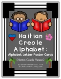 Haitian Creole Alphabet: Alphabet Letter Poster Cards (Haiti) Set 2