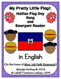 Haitian Flag Day Song and Emergent Reader in English (Bundle)