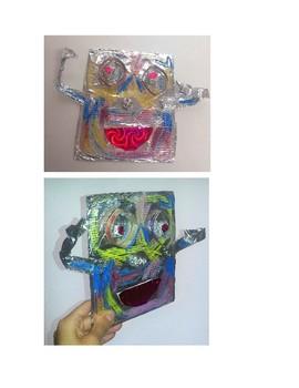 Haitian Heritage Metal Face Sculptures