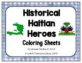 Haitian Historical Heroes Coloring Sheets (Haiti)