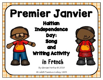Haitian Independence Day Song and Writing Activity in French