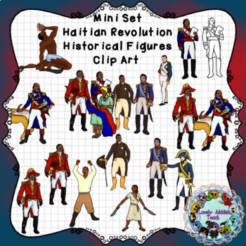 Haitian Revolution and Independence Day Clip Art: Historical Figures