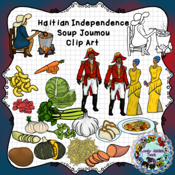 Haitian Independence Day Soup Joumou Clip Art