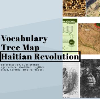 Haitian Revolution Vocab Tree Map