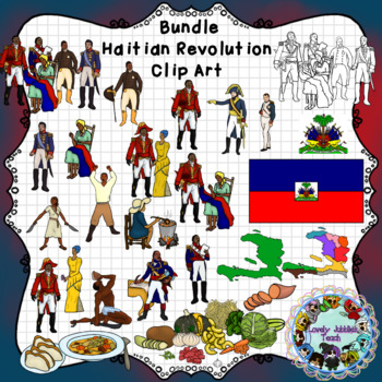 Haitian Revolution and Independence Day Clip Art