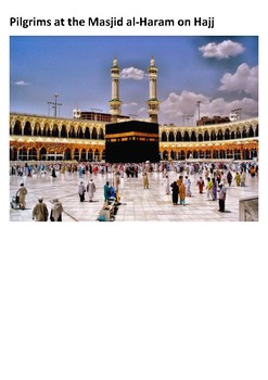 Hajj Pilgrimage to Mecca Word Search