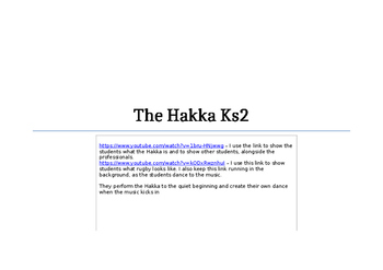Hakka dance lesson plans