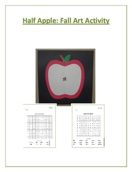 Half Apple: Fall Art Activity