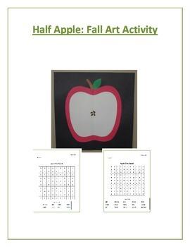Half Apple: Fall Art Activity