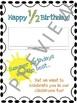Half Birthday Certificates for Summer Birthdays