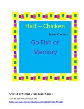 Half Chicken Go Fish/Memory
