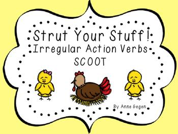Half Chicken Irregular Verb SCOOT