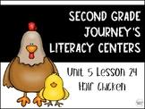 Half Chicken Journey's Literacy Centers - Second Grade Lesson 24