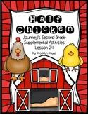 Half Chicken Journey's Activities - Second Grade Lesson 24