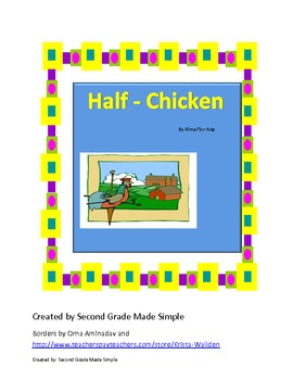 Half Chicken Literacy Center Pack-Journeys Lesson 24