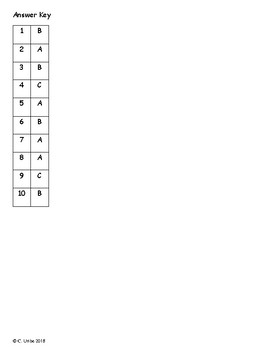 Half-Chicken ~ Reading Comprehension Test ~ 2nd Grade