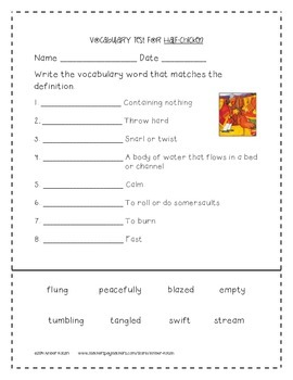 Half-Chicken Supplemental Activities 2nd Grade Journeys Unit 5, Lesson 24
