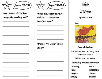 Half-Chicken Trifold - Journeys 2nd Grade Unit 5 Week 4 (2011)