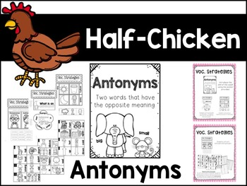 Half-Chicken Unit 5, Lesson 24 Journeys Print & Go