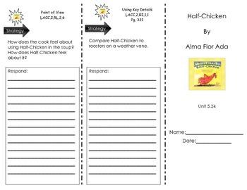 Half-Chicken by Alma Flor Ada - Journeys Common Core- Houghton Mifflin Harcourt