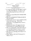 Half-Chicken by Alma Flor Ada Short Answer Comprehension Questions