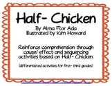 Half-Chicken folktale: Cause and Effect & Sequencing from Journeys