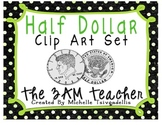 Half Dollar Clip Art Set