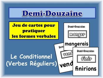 French Conditional (Regular) Card Game, Half Dozen