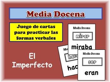 Spanish Imperfect Card Game, Half Dozen