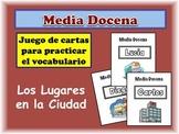 Spanish City Locations Card Game, Half Dozen
