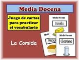 Spanish Food and Drinks Card Game, Half Dozen