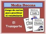 Spanish Transportation Card Game, Half Dozen