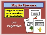 Spanish Vegetables Card Game, Half Dozen