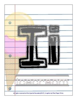 Half & Half Alphabet - Classroom DECOR - Primary Grades - Back to School