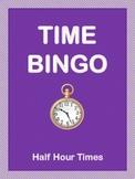 Time Bingo-Half Hour