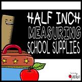 Half Inch Measurement Task Cards