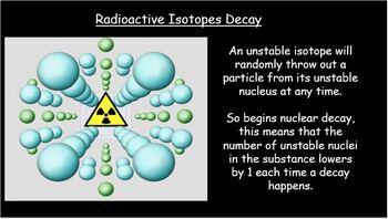 Half Life - Radioactive decay
