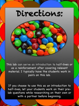 Half-Life Lab: Use a Candy Simulation to Teach Radioactive Decay!