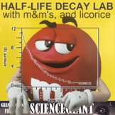 Half-Life Labs with M&M's, Licorice, and Plain Paper