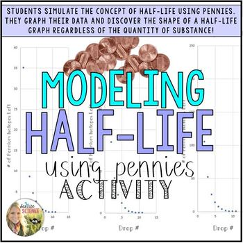 Half Life Modeling with Pennies Activity