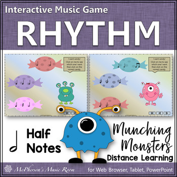 Half Note - Munching Monsters - Interactive Rhythm Game