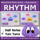 Music Game: Half Note Interactive Rhythm Game {Yum Yums}