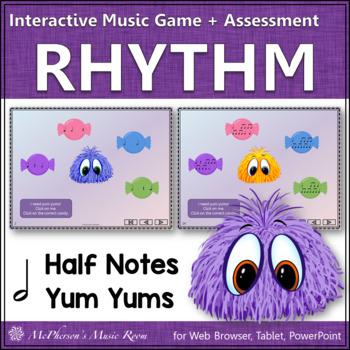 Half Note Interactive Rhythm Game {Yum Yums}