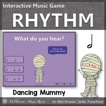 Half Notes Interactive Rhythm Game {Dancing Mummy}