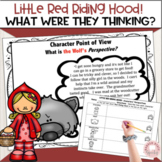 Perspective taking and theory of mind  Little Red Riding Hood