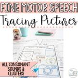 Speech Sound Activities- All Sounds- No Prep- Fine Motor S