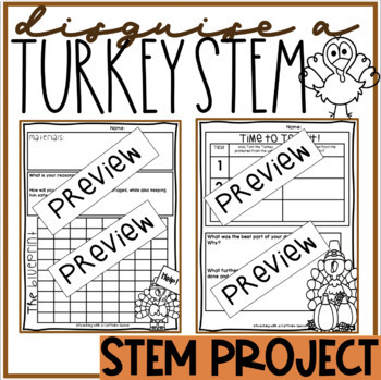 Disguise a Turkey STEM Thanksgiving Activity