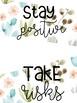 Half Page Positive Quotes - Cactus