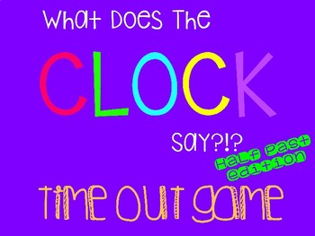Half Past Clock Out Knock Out Game