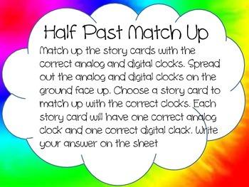 Half Past Match Up